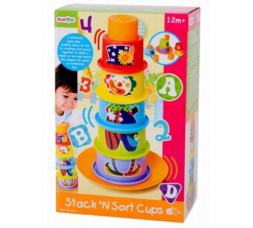 "Jucării pentru Copii - Magazin Online de Jucării ieftine in Chisinau Baby-Boom in Moldova playgo 2395 piramida ""clovn"""