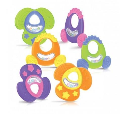 Jucării pentru Copii - Magazin Online de Jucării ieftine in Chisinau Baby-Boom in Moldova nuby id67911inel gingival- zornăitoare cu container in sort. (6)