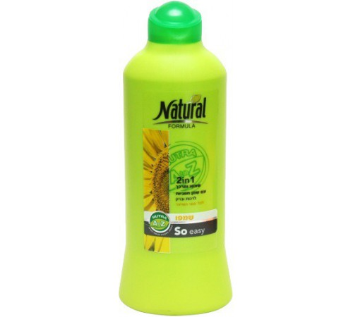 natural formula 2в1 Шампунь+кондиционер для всех типов волос (700 мл) 792501