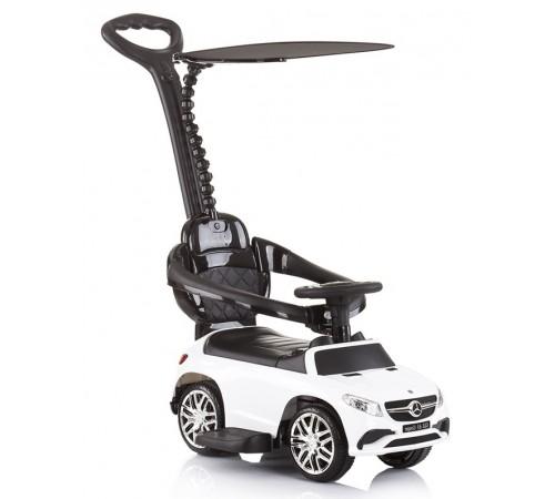 chipolino mașină cu mâner mercedes amg glЕ 63  rocgl630191w alb