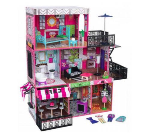 Детскиймагазин в Кишиневе в Молдове kidkraft 65922 Домик для кукол brooklyn s loft dollhouse