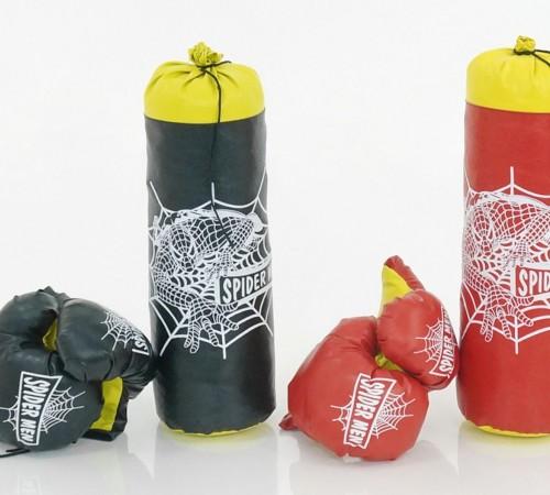 """Игрушки в Молдове strateg leo 2051 Боксерский набор средний """"spider-man"""" в асс."""