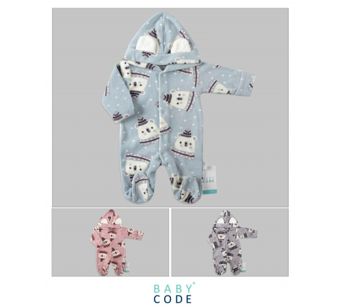 "baby code 347042 Комбинезон ""Мишки"" (62-68-74 см.) в асс."