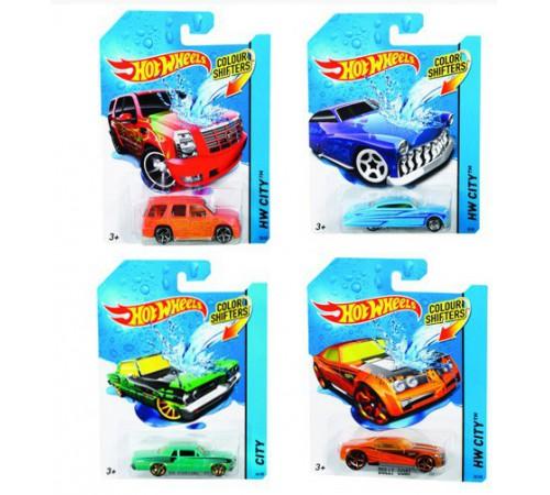 """hot wheels bhr15 Машинка серии """"Измени цвет"""" в асс."""