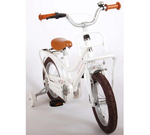 "volare 21470 Велосипед 14 ""liberty"" белый/коричневый"
