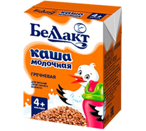 Беллакт Каша молочная стерилизованная  гречневая (4m+) 207 гр.