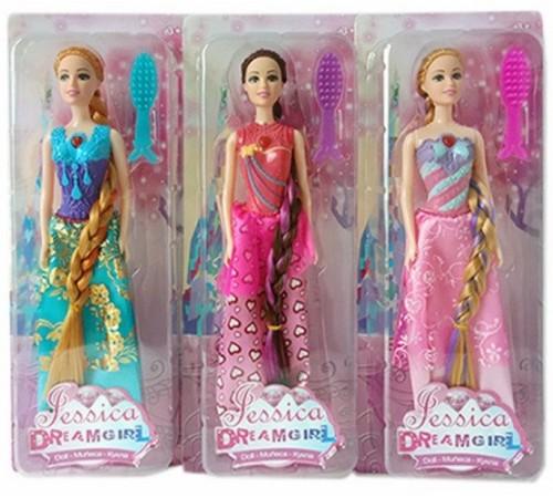 """op ДЕ01.319 Светящаяся кукла Джессика """"dream girl"""" в асс."""
