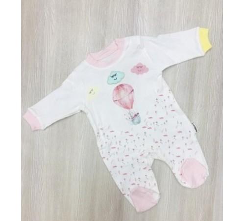 """Одежда для малышей в Молдове twetoon baby 113486 Комбинезон """"Воздушный шар"""" в асс. (розовый/бирюзовый) 0-12 мес."""