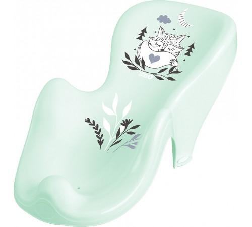 """tega baby Сиденье для ванны антискользящее """"Лисёнок"""" pb-lis-003-105 зеленый"""