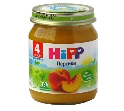 hipp 4202 Пюре из персиков 125 gr. (4m+)