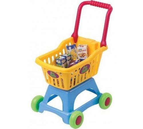 """playgo 3243 Игровой набор """"Тележка с продуктами"""""""