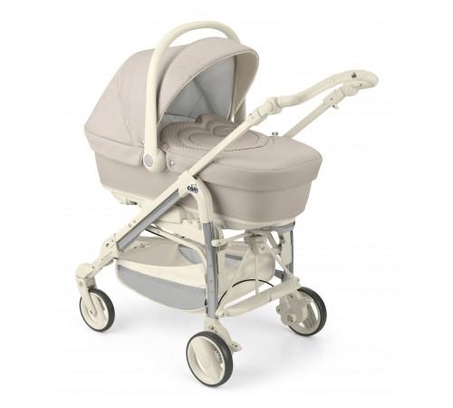 cărucior 3 în 1 familia combi family dolcecuore t646 bej/strasuri