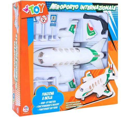 """Детскиймагазин в Кишиневе в Молдове globo 36664 Игровой набор w'toy """"Аэропорт"""" с аксессуарами"""