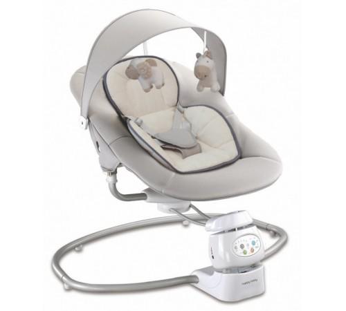 baby mix ur/by002 Укачивающий центр с адаптером Беж