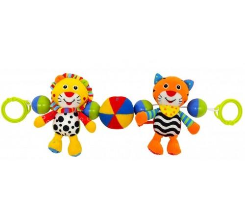 "Детскиймагазин в Кишиневе в Молдове baby mix ef-te-8377-48 Подвеска для коляски ""Тигр/Лев"""
