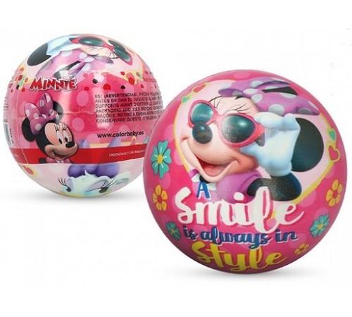 "color baby 48285 Мяч ""minnie"" (9 см.) в асс."