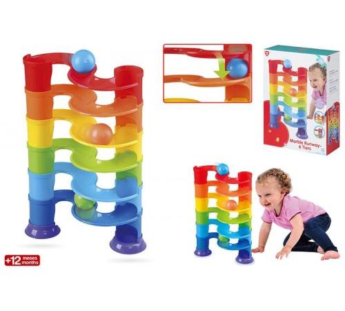 Детскиймагазин в Кишиневе в Молдове color baby 44553 Башня с мячиками playgo