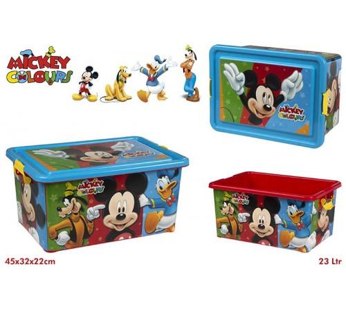 color baby 76613 box pentru jucarii mickey