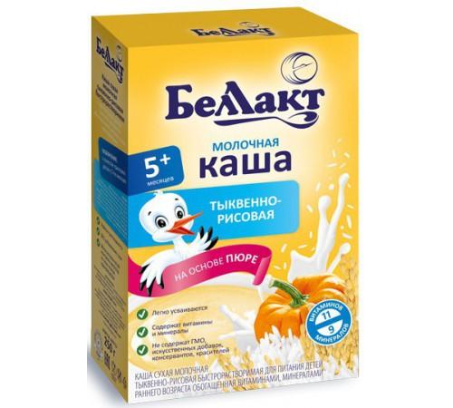 Детское питание в Молдове Беллакт каша молочная тыквенно-рисовая (5m+) 250 гр.