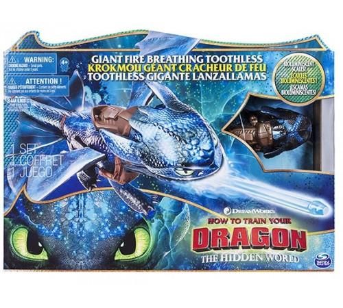 "dragons 6045436 Интерактивная игрушка ""Огнедышащий Дракон Беззубик"""