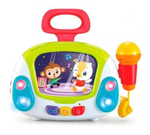 """hola toys 3138 Музыкальная игрушка """"Караоке"""""""