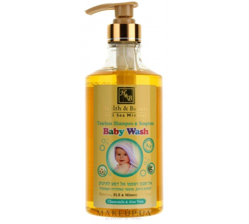 health & beauty  Детский шампунь-гель для душа без слез 780мл 43985