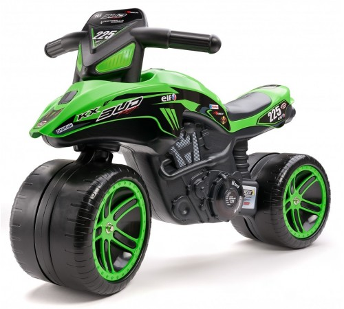 "falk 502kx  run bike ""kawasaki bug racing"" verde"