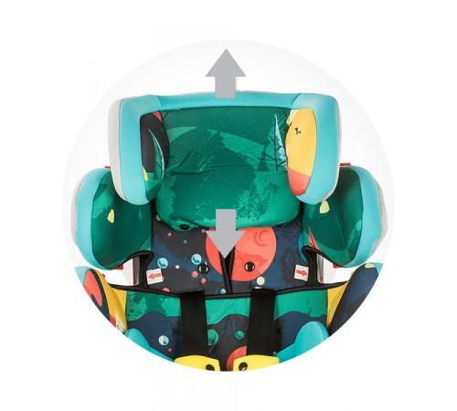 chipolino Автокресло 4 max stk4x0191gg гр. 0+/1/2/3 ( 0-36 кг.) гранит