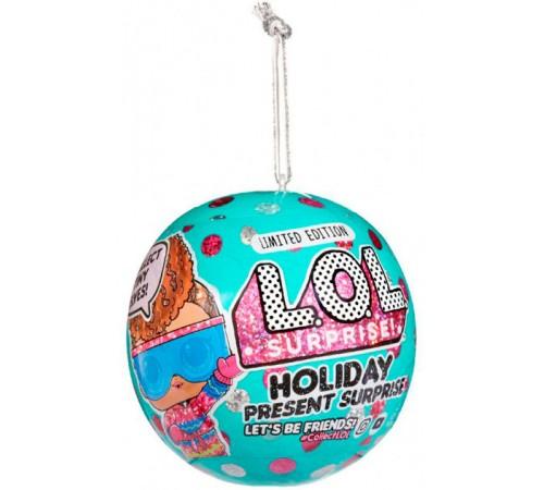 """Детскиймагазин в Кишиневе в Молдове l.o.l. 572329 Набор с куклой surprise! серии holiday """"Новогодний лук"""""""