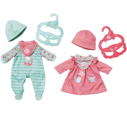 zapf creation 700587 set de imbracaminte my first baby annabell in sort.