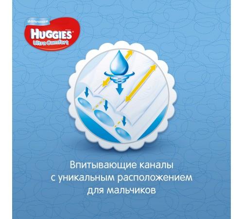 huggies ultra comfort boy 4 (8-14 кг.) 19 шт.