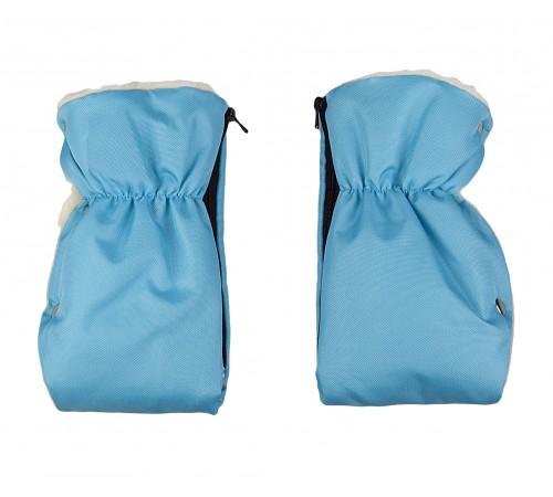 womar mănuși pentru cărucior albastru