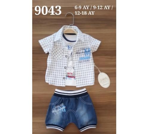 Одежда для малышей в Молдове bebemania 9043 Костюм для мальчика (3 ед.)