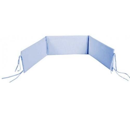 klups Бортик на кроватку универсальный голубой
