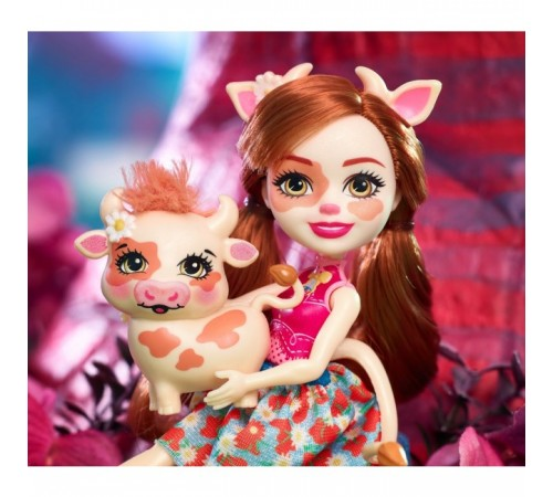 "enchantimals fxm77 Кукла ""Коровка Кайла"""