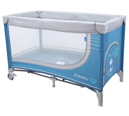 baby mix hr-8052-193 Манеж синий