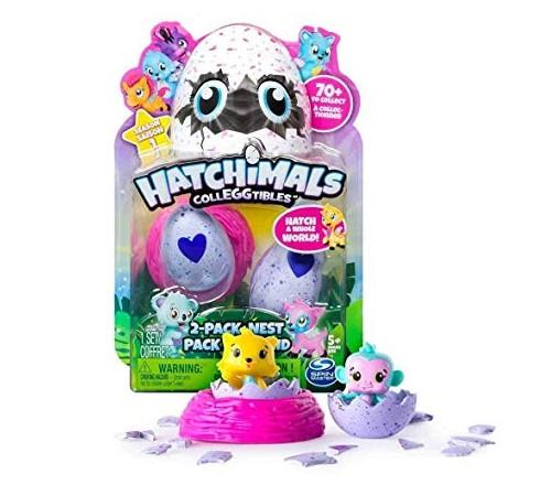 """hatchimals 6038398 Набор """"colleggtibles"""" гнездо и две фигурки в яйцах"""