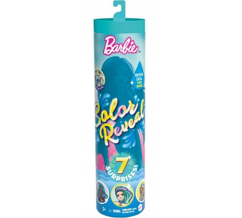 """barbie gtp43 Кукла """"barbie color reveal doll with 7 surprises"""""""