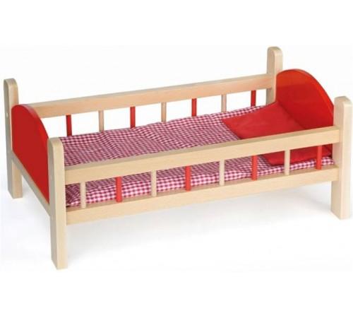 Детскиймагазин в Кишиневе в Молдове 3toysm lk1 50539 Деревянная кроватка для кукол