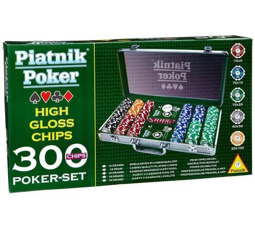 Детскиймагазин в Кишиневе в Молдове piatnik 7903 Набор для игры в  покер (300 фишек)