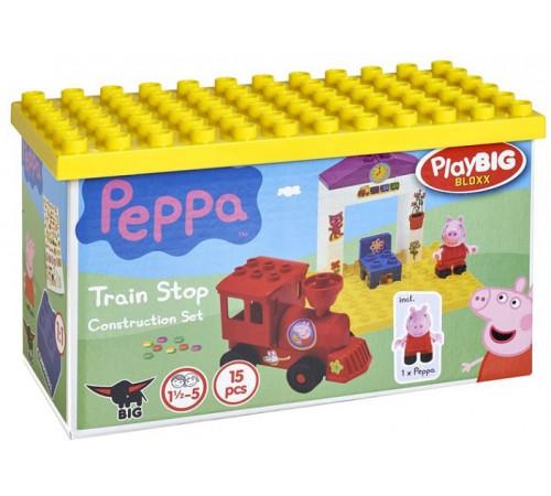 """peppa pig 57072 Конструктор"""" Железнодорожная станция"""" (15 дет.)"""