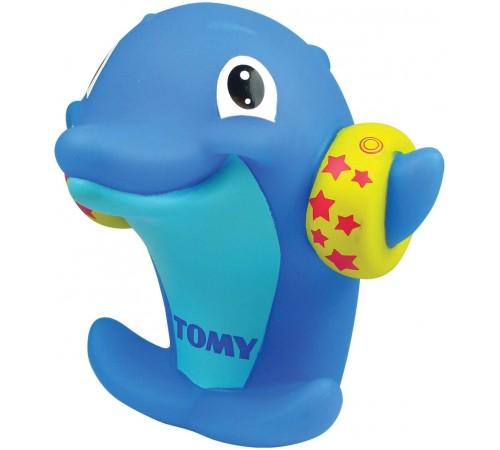 """tomy 27728 Игрушка для купания """"Свистулька-Дельфин"""" e72359"""