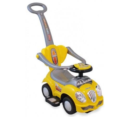 baby mix ur-hz558w Машина-толокар Желтая