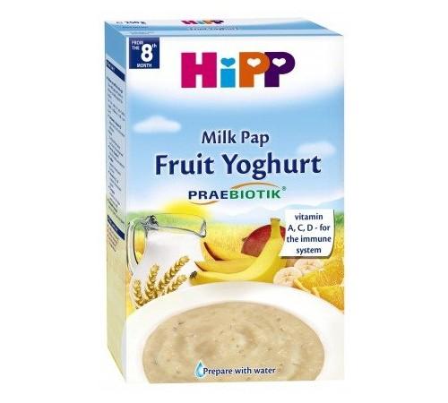 """hipp 3311 Молочная пшеничная каша с овсяными хлопьями """"Фрукты-Йогурт"""" (8m+) 250 гр."""