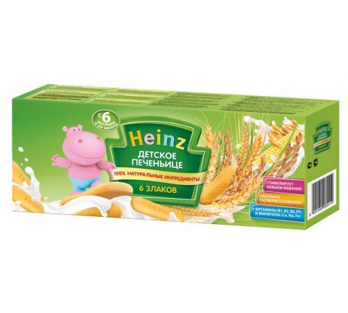 Детское питание в Молдове heinz Детское печенье 6 злаков 180г.