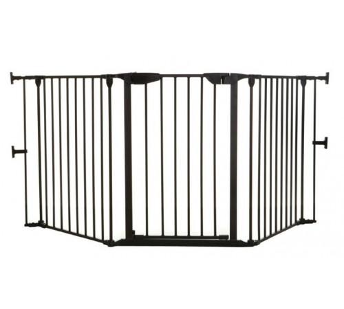 """dreambaby f2021 porțile de siguranță 3 secțiuni """"newport adapta gate"""" (85,5 - 210 cm.)negru"""