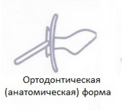 """canpol22/603 suzetă din latex ortodonta """"fairytale"""" (0-6m) 1buc."""