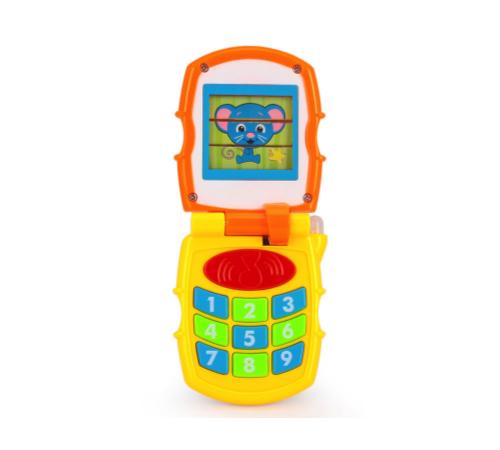 Детскиймагазин в Кишиневе в Молдове huile toys 766 Телефон  с музыкой и светом