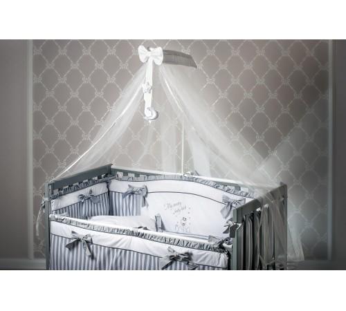 """dormi baby Постельное бельё """"Лебеди"""" серый  (6 единиц)"""