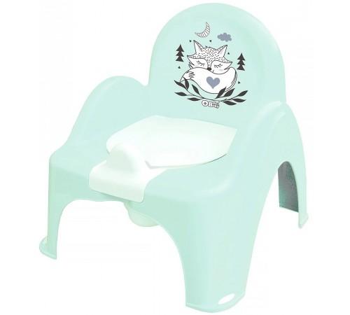 """tega baby Горшок-кресло """"Лисёнок"""" pb-lis-007-105 зеленый"""